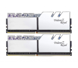 Pamięć RAM DDR4 G.SKILL 16GB (2x8GB) 3200MHz CL16 TridentZ Royal Silver