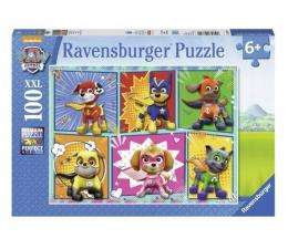 Puzzle dla dzieci Ravensburger 100 el. XXL Psi Patrol Teamwork