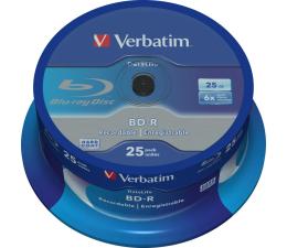Płyta BD-R Verbatim BluRay 6x 25GB DataLife cake 25 szt
