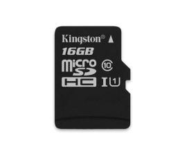 Karta pamięci microSD Kingston 16GB microSDHC Canvas Select 80MB/s C10 UHS-I