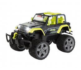 Zabawka zdalnie sterowana Carrera Jeep Wrangler Rubicon, green