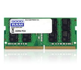 Pamięć RAM SODIMM DDR4 GOODRAM 8GB (1x8GB) 2400MHz CL17
