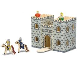 Zabawka drewniana Melissa & Doug Przenośny składany zamek