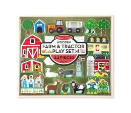 Zabawka drewniana Melissa & Doug Drewniany mega zestaw FARMA