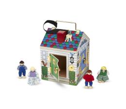 Zabawka drewniana Melissa & Doug Domek z zamkami i kluczami