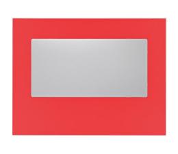 Akcesorium do obudowy Bitfenix Panel boczny z oknem do Prodigy czerwony