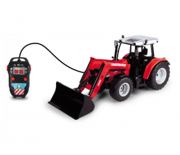 Pojazd / tor i garaż Dickie Toys Farm Traktor Massey Ferguson 5713SL