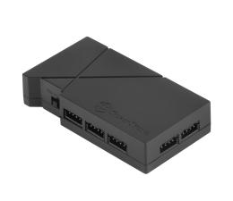 Kontroler SilverStone RGB-LED-Hub + 2xLED czarny