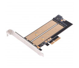 Kontroler SilverStone PCIe x4 - 2xM.2