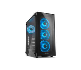 Obudowa do komputera Sharkoon TG5 Glass Blue