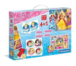 Zabawka edukacyjna Clementoni Disney Edukit 4w1 księżniczki