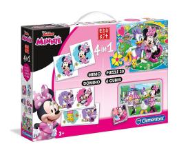 Zabawka edukacyjna Clementoni Disney Edukit 4w1 Minnie Happy Helpers