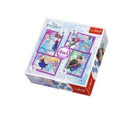 Puzzle dla dzieci Trefl Disney Frozen Zimowe szaleństwo 4w1