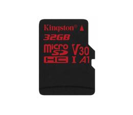 Karta pamięci microSD Kingston 32GB microSDHC Canvas React 100MB/s UHS-I V30 A1