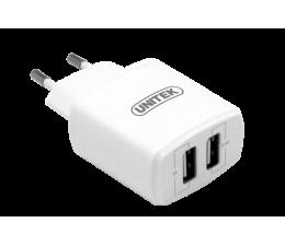 Ładowarka do smartfonów Unitek Ładowarka sieciowa 2x USB 3.4A