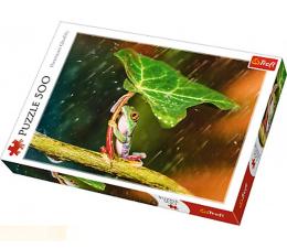 Puzzle do 500 elementów Trefl Zielony parasol