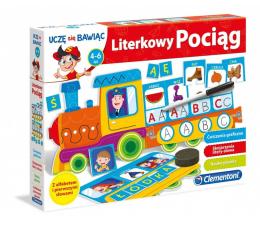 Gra dla małych dzieci Clementoni Literkowy pociąg