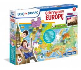 Gra dla małych dzieci Clementoni Odkrywamy Europę