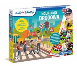 Gra dla małych dzieci Clementoni Edukacja drogowa