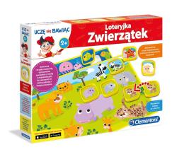 Gra dla małych dzieci Clementoni Loteryjka zwierzątek