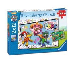Puzzle dla dzieci Ravensburger Psi Patrol Puzzle 2 x 12 Elementów