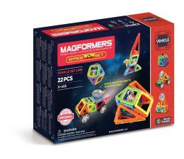 Klocki Magformers Vehicle space wow 22 el.