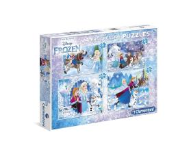 Puzzle dla dzieci Clementoni Puzzle Disney Frozen 20+60+100+180 el.