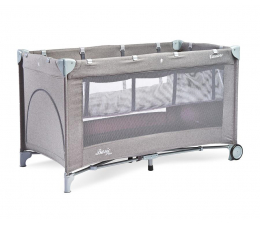 Łóżeczko dla dziecka Caretero Basic Plus Grey