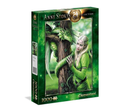 Puzzle 500 - 1000 elementów Clementoni Puzzle Anne Stokes collection Kindred Spirits