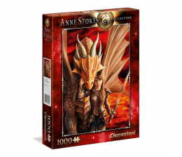 Puzzle 500 - 1000 elementów Clementoni Puzzle Anne Stokes collection Inner Strength