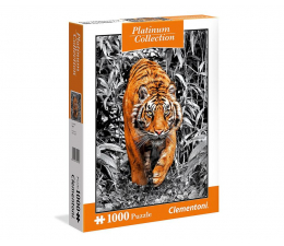 Puzzle 500 - 1000 elementów Clementoni Puzzle Platinum Collection: Tiger