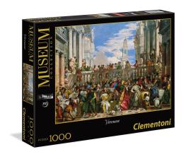 Puzzle 500 - 1000 elementów Clementoni Puzzle Museum Le nozze di Cana