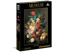 Puzzle 500 - 1000 elementów Clementoni Puzzle Museum Van Dael -  Vaso di fiori