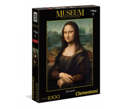 Puzzle 500 - 1000 elementów Clementoni Puzzle Museum Leonardo - Gioconda