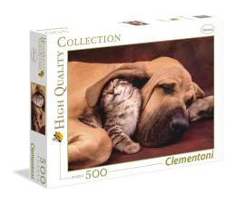 Puzzle do 500 elementów Clementoni Puzzle HQ  Cuddles