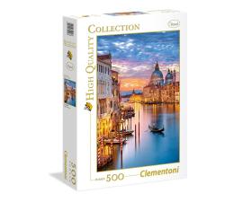 Puzzle do 500 elementów Clementoni Puzzle HQ Lighting Venice