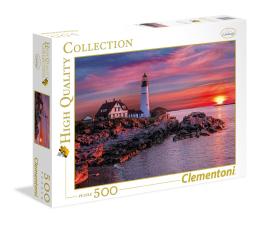 Puzzle do 500 elementów Clementoni Puzzle HQ Portland Head Light