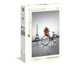 Puzzle do 500 elementów Clementoni Puzzle HQ  Romantic promenade in Paris