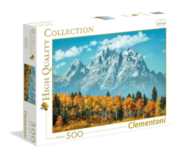 Puzzle do 500 elementów Clementoni Puzzle HQ  Grand Teton in fall