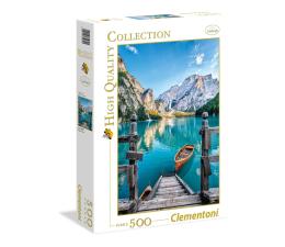Puzzle do 500 elementów Clementoni Puzzle HQ  Braies lake