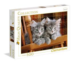Puzzle do 500 elementów Clementoni Puzzle HQ  Kittens