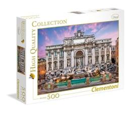 Puzzle do 500 elementów Clementoni Puzzle HQ Trevi Fountain