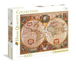 Puzzle 500 - 1000 elementów Clementoni Puzzle HQ  Mappa Antica
