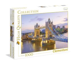 Puzzle 500 - 1000 elementów Clementoni Puzzle HQ  Tower Bridge