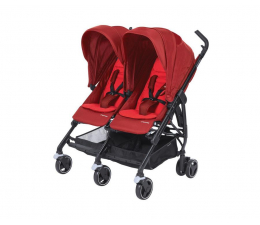 Wózek dla bliźniaków Maxi Cosi Dana for2 Vivid Red