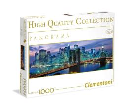 Puzzle 500 - 1000 elementów Clementoni Puzzle Panorama HQ  New York Brooklyn bridge