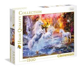 Puzzle 1000 - 1500 elementów Clementoni Puzzle HQ  Wild Unicorns