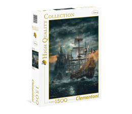 Puzzle 1000 - 1500 elementów Clementoni Puzzle HQ  The Pirate ship