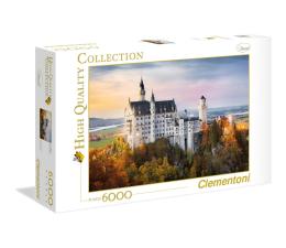 Puzzle powyżej 1500 elementów Clementoni Puzzle HQ  Neuschwanstein