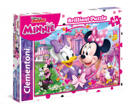 Puzzle dla dzieci Clementoni Puzzle Disney Brilliant Minnie Happy Helpers 104 el.